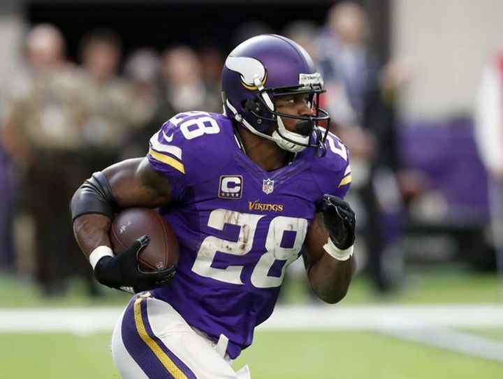 Adrian Peterson is one of the hottest names on the free agent market.