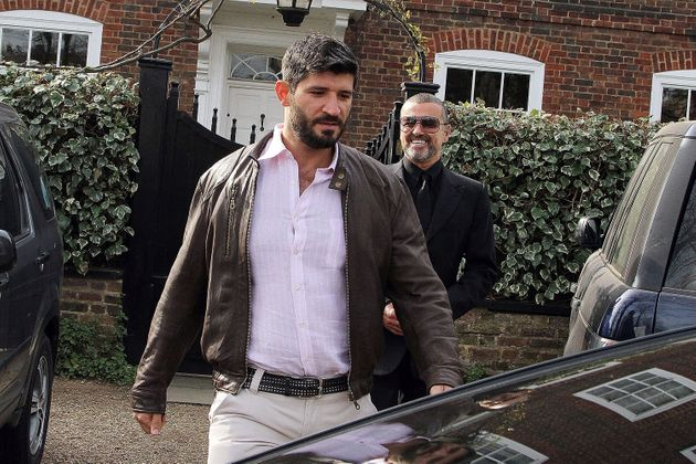 George Michael and Fadi Fawaz pictured together in