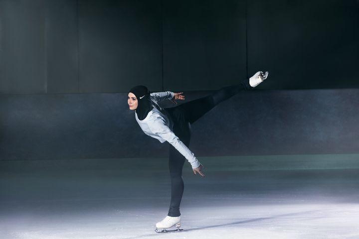 Emirati figure skater Zahra Lari.