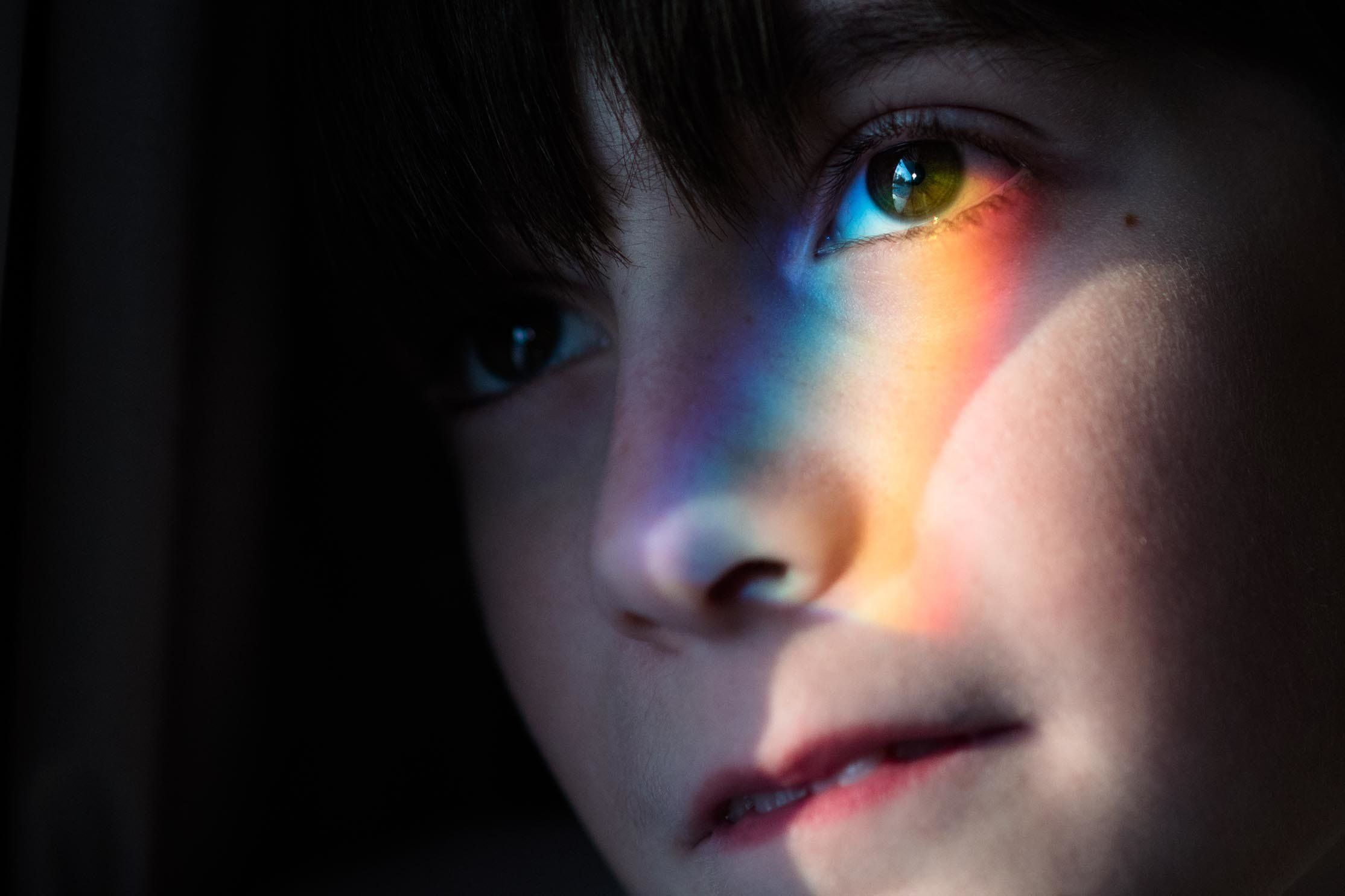 Kate Miller-Wilson told The Huffington Post some of the photos she has taken of her 10-year-old son Eian, who has autism