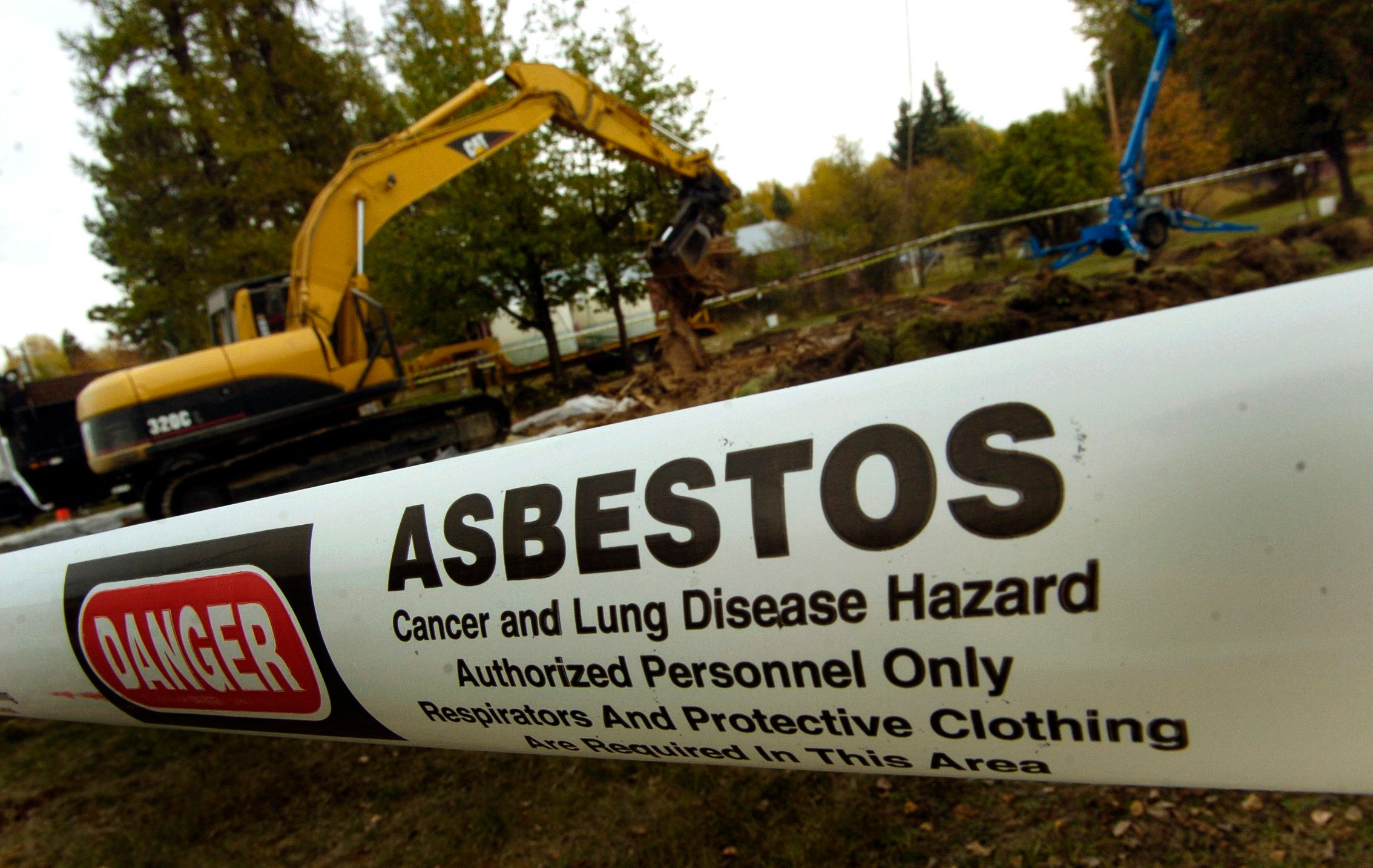 The Environmental Protection Agency has been working for years to remove the deadly asbestos fibers from Libby and the s