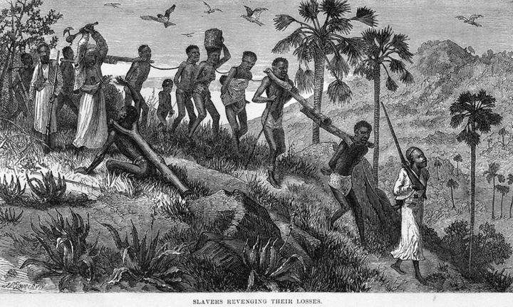Central African Slave Coffle From 1865, Journal of David Livingston, University of Virginia Digital Library