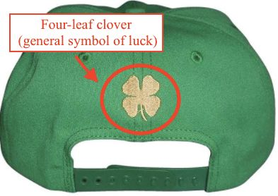 """The four-leaf clover is used as a good-luck symbol <a href=""""http://www.pennlive.com/entertainment/index.ssf/2014/03/shamrock_vs_four_leaf_clover.html"""" target=""""_blank"""">all around the world.</a>"""