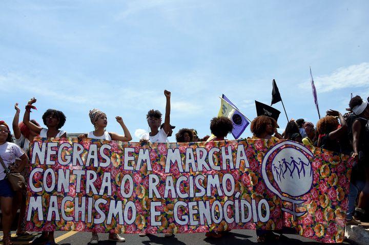 Black citizens comprise half of Brazil's population.