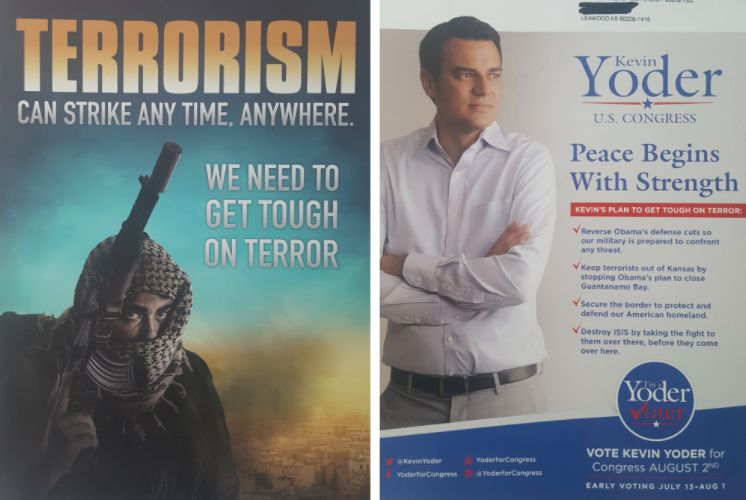 Last July, Shabbir opened her mailbox to find an Islamophobic postcard from U.S. Rep. Kevin Yoder.