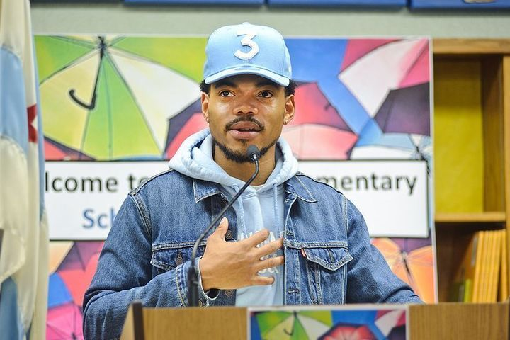 Chance The Rapper donates $1 million to Chicago school system
