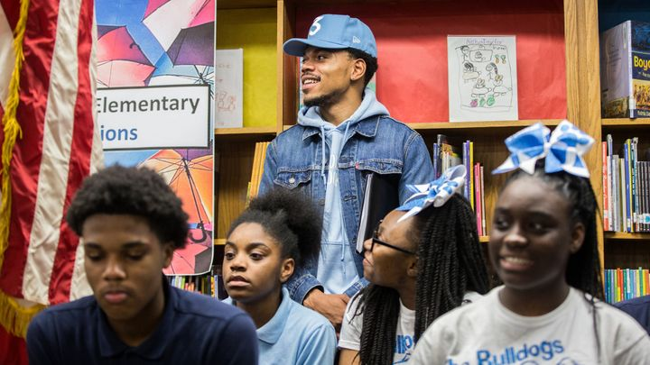 Chance The Rapper will donate $1 million to public schools in Chicago