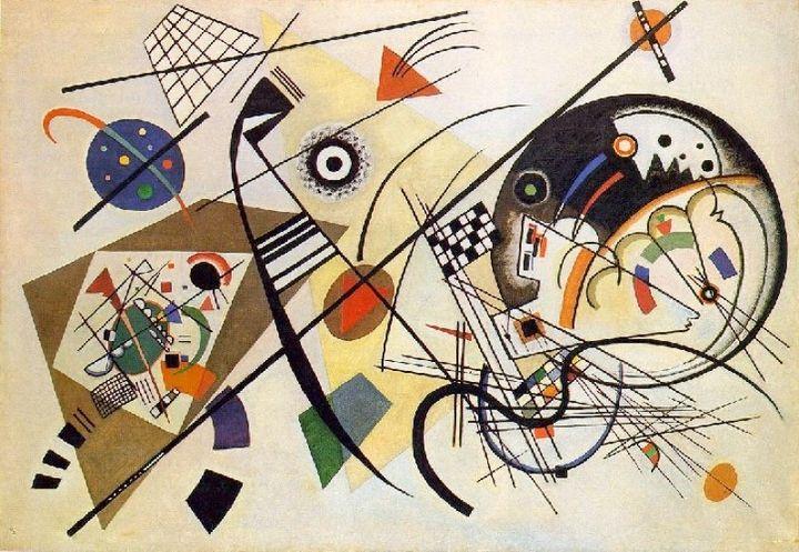 Wassily Kandinsky, <em>Transverse Line</em>, 1923 | Kunstsammlung NRW, Dusseldorf, Germany