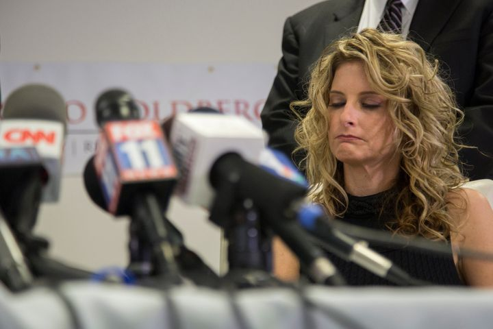 "Summer Zervos announces her lawsuit against then President-elect Donald Trump in January. The former ""Apprentice"" c"