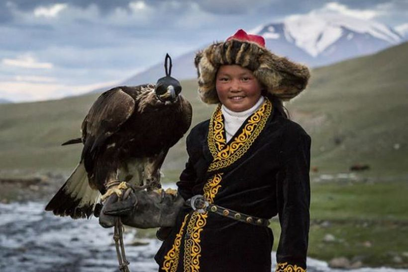 Aisholpan & Golden Eagle, Mongolia