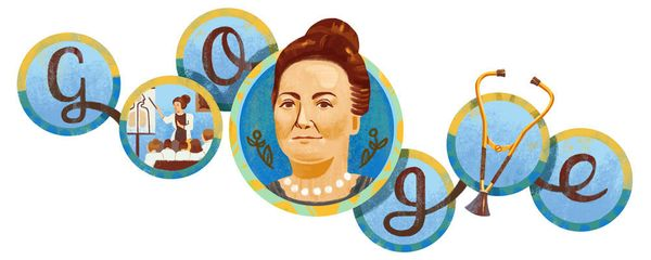 "A <a href=""https://www.google.com/doodles/cecilia-griersons-157th-birthday"" target=""_blank"">physician from Argentina</a>, she"