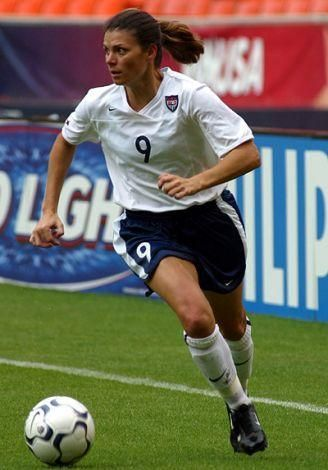 "Mia Hamm, US women's national soccer team, Olympic gold medalist  <a rel=""nofollow"" href=""https://www.sheknows.com/"" target="""
