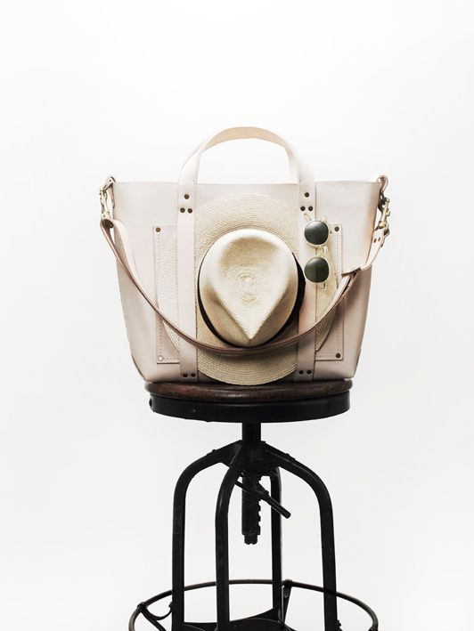 <em>The stylish Poglia Porter bag</em>