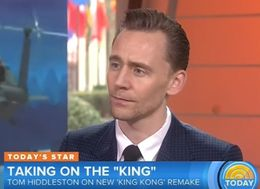 Tom Hiddleston's Death Stare Fails To Stop Interviewer Going There About Taylor Swift