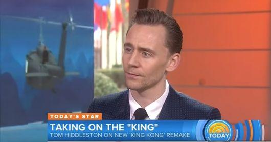 Oooooh if looks could kill: Tom