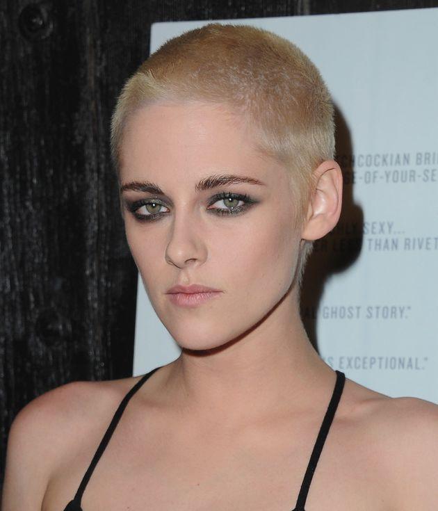 Kristen Stewart Debuts A Bold Blonde Buzzcut At 'Personal Shopper' Premiere And Looks