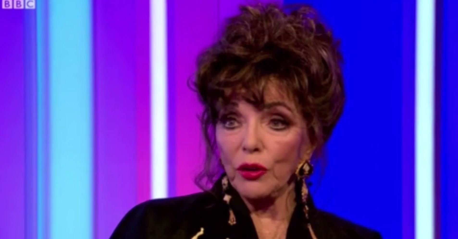 Joan Collins Calls Out Hollywood Stars For Being 'Too