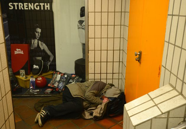 Corporate Watch said many of the 'voluntary' removals of rough sleepers were conducted under the threat...