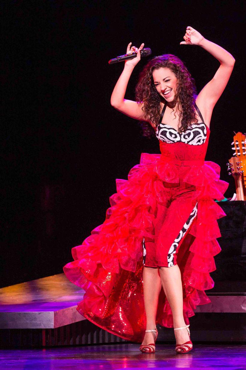 Ana Villafañe as Gloria Estefan in <em>ON YOUR FEET!</em>