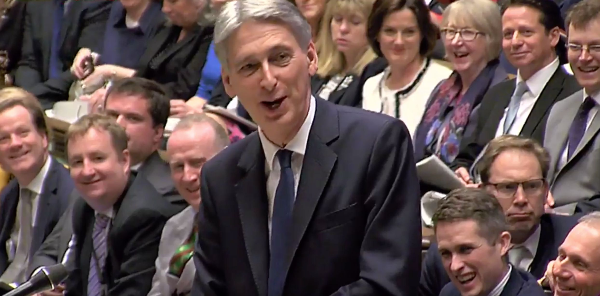 Philip Hammond Leaves MPs Roaring With Laughter With 8 Brilliant Budget