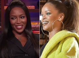 Naomi Campbell Hints At Rihanna Beef (Then Very Quickly Backpedals)