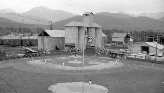 This vermiculite expansion plant in Libby, Montana, next to the community ball fields, was among the places where high l