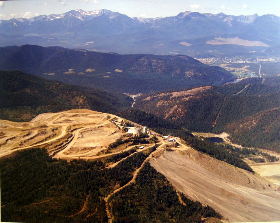 The vermiculite mine outside of Libby, Montana, operated for more than 70 years.