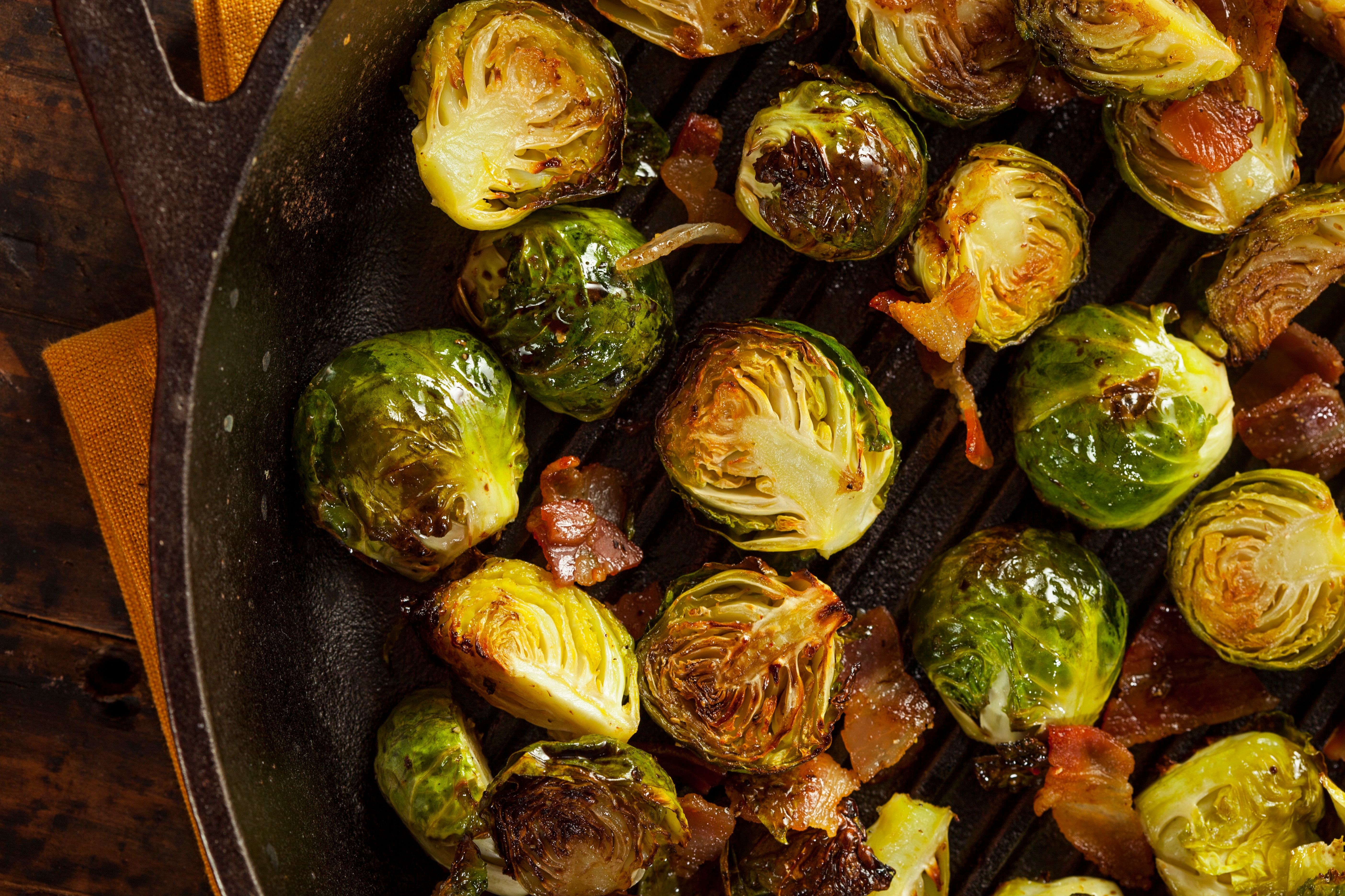 How do you make brussel sprouts less bitter