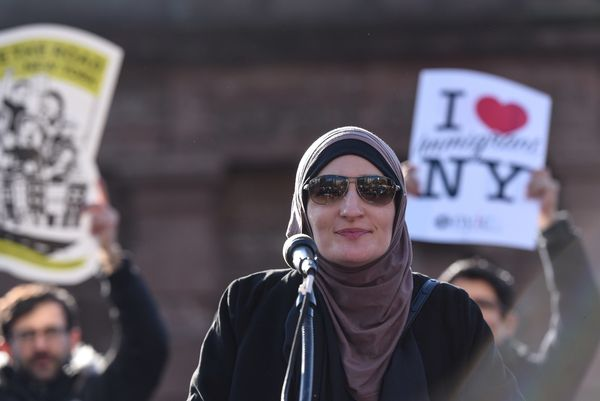 "Linda Sarsour is an activist and one of the organizers behind the Women's March on Washington. During&nbsp;a time <a href=""ht"