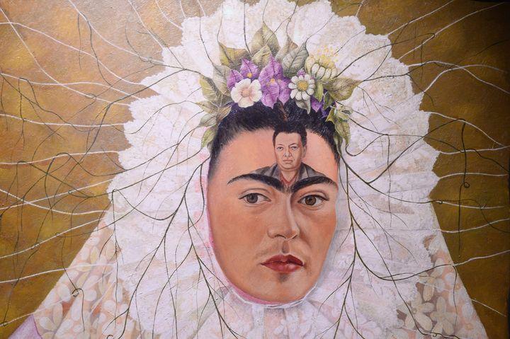 Work by Frida Kahlo.
