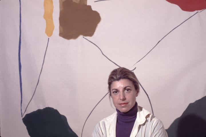 Helen Frankenthaler.