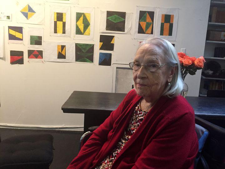 Cuban-American artist Carmen Herrera.