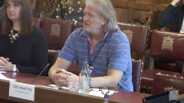 Tim Martin, founder of Wetherspoon, said his business proved UK workers were as good as EU