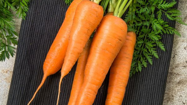 We admit to being suckers for beets or carrots with their greens attached -- vegetables with their leaves attached are just m
