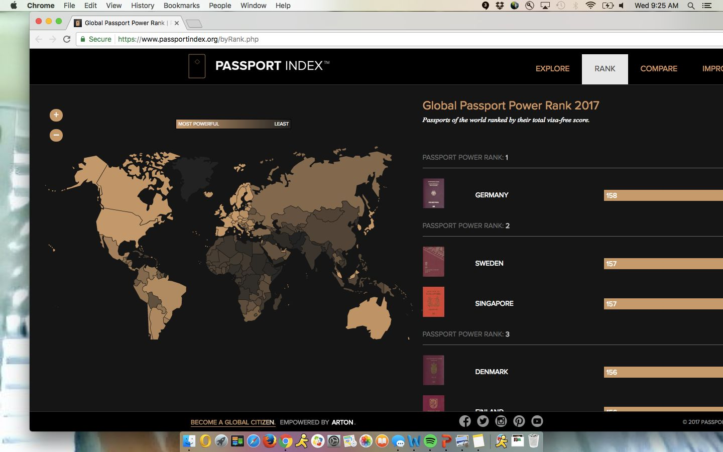The World's Most Powerful Passports, Ranked In Real