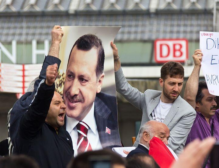 Rally of the Union of European Turkish Democrats in Köln, 2013.
