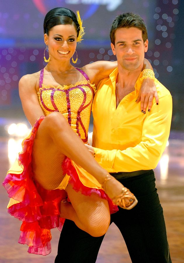 Gethin - seen here with Flavia Cacace - starred in the series in 2007 and took part in the live tour...