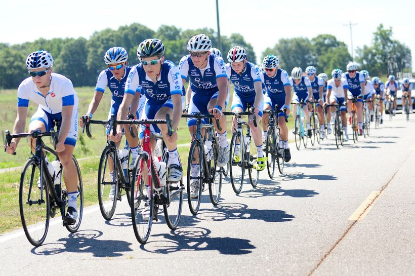 Team Novo Nordisk's Talent ID Camp