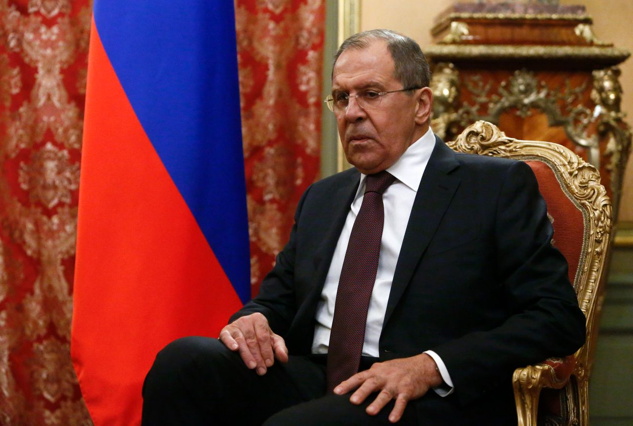 Russian officials like Foreign Minister Lavrov have borrowed Trump's vocabulary when responding to reports about Russian and Trump team ties, but have stopped short of defending the president.