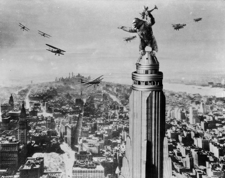 "1933's ""King Kong,"" directed by Merian C. Cooper and Ernest B. Schoedsack."