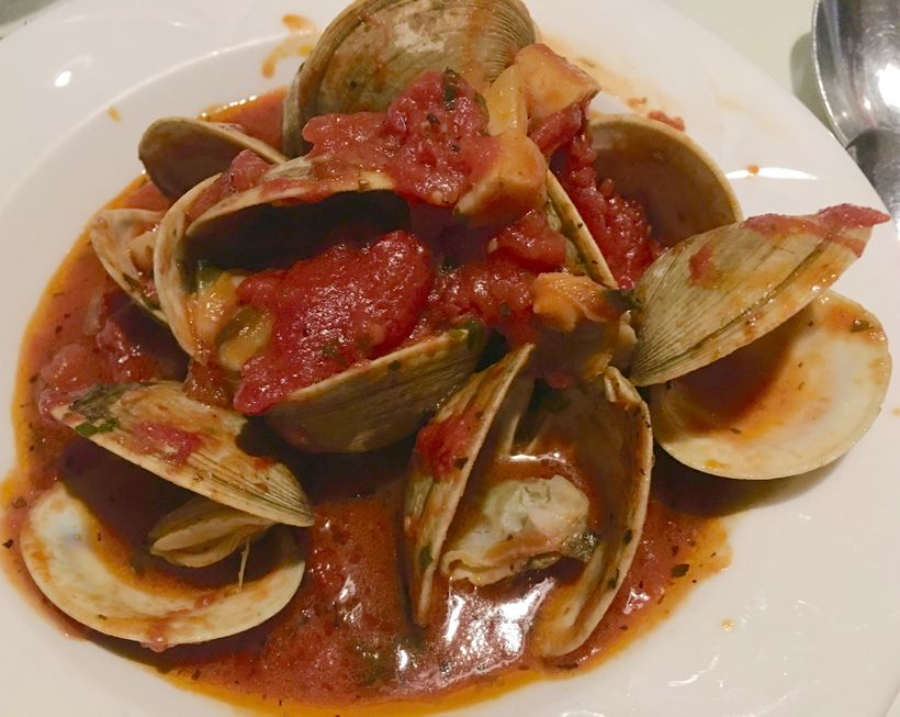 Vongole In Red Sauce