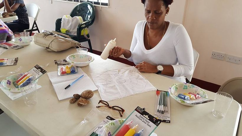 Grenada Ministry of Culture Women's Co-operatives Fabric Workshop