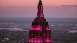 Empire State Building Shines Pink In Solidarity With Women Marching