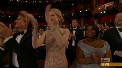 Nicole Kidman explica su extraña forma de aplaudir en los