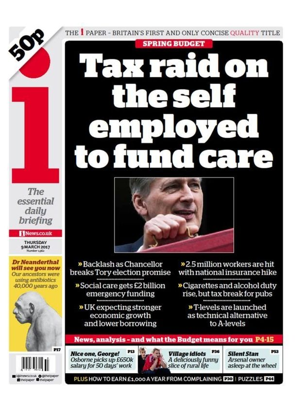 Another 'tax raid' headline from The