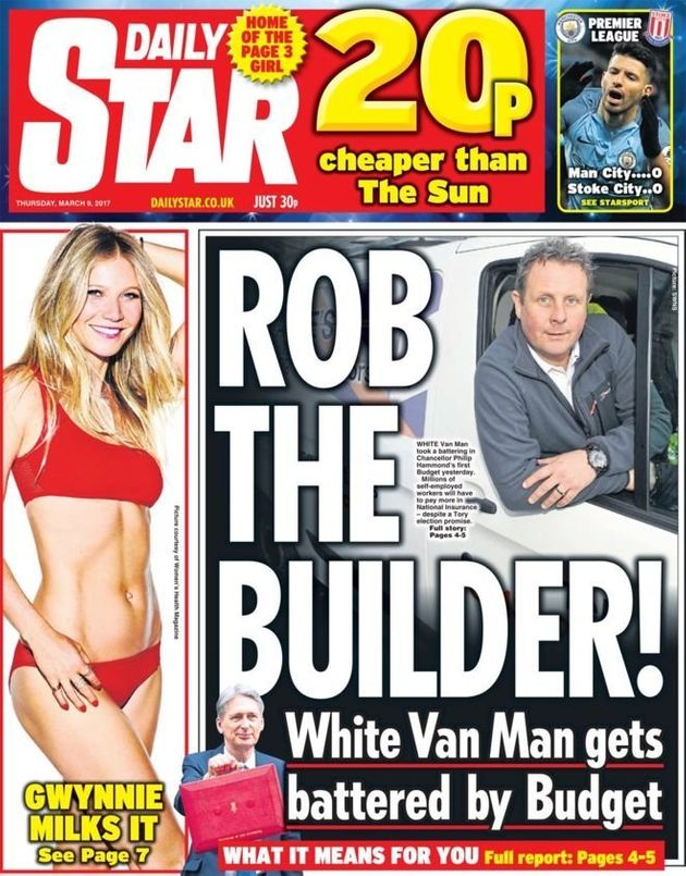 The Daily Star led on an admirable