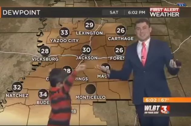 Boy Talks About Farts On Live TV, Weatherman Has Every Parent's