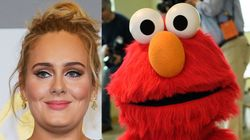 Elmo Is Desperate To Say 'Hello' To Adele, And Maybe Even