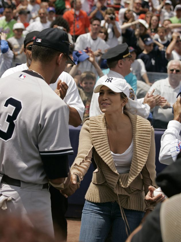 Was this meeting at a Yankees game in 2005 a harbinger of things to