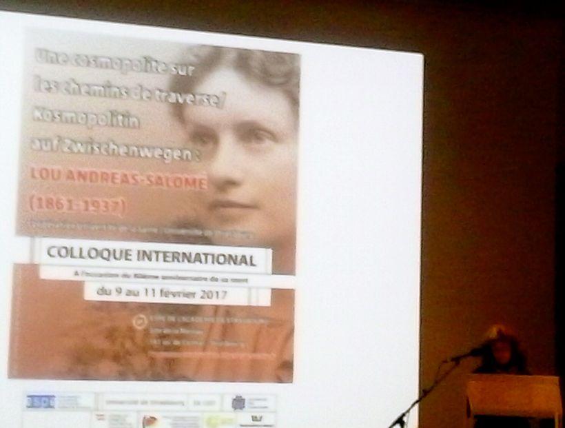 <strong><em>LOU ANDREAS-SALOME (1861-1937) COLLOQUE INTERNATIONAL:  A l&#39;occasion du 80th anniversaire de sa mort 9-11 feb